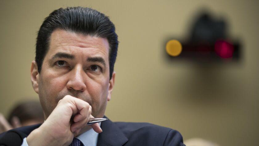 FDA Commissioner Scott Gottlieb testifying on Capitol Hill last October.