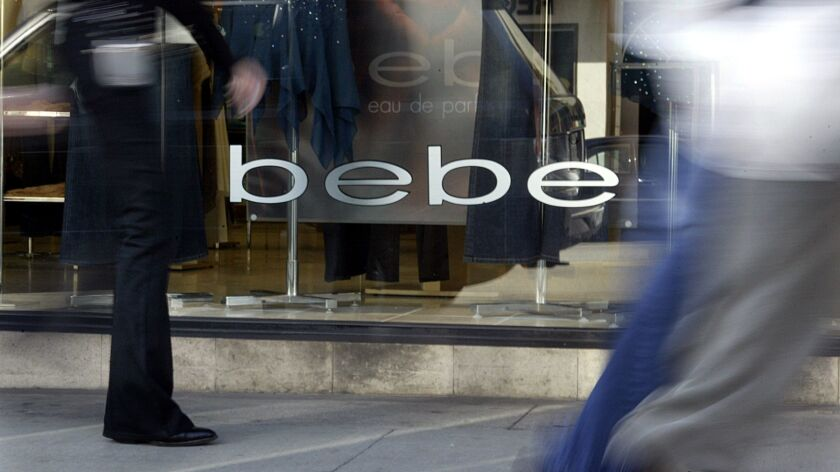 Over the last 4½ years, Bebe has lost nearly $220 million.