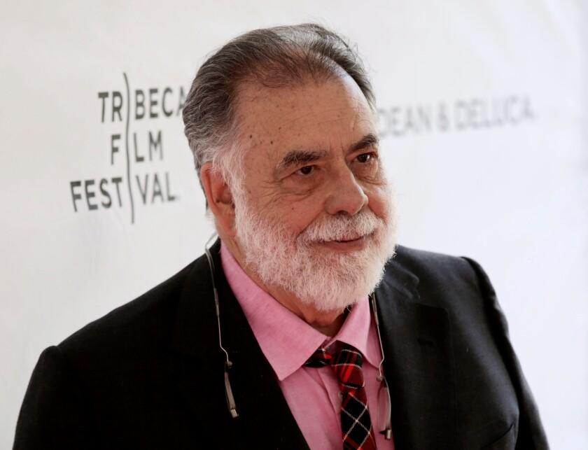El director de cine estadounidense Francis Ford Coppola.