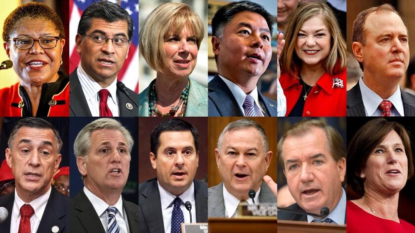 California congressional delegation