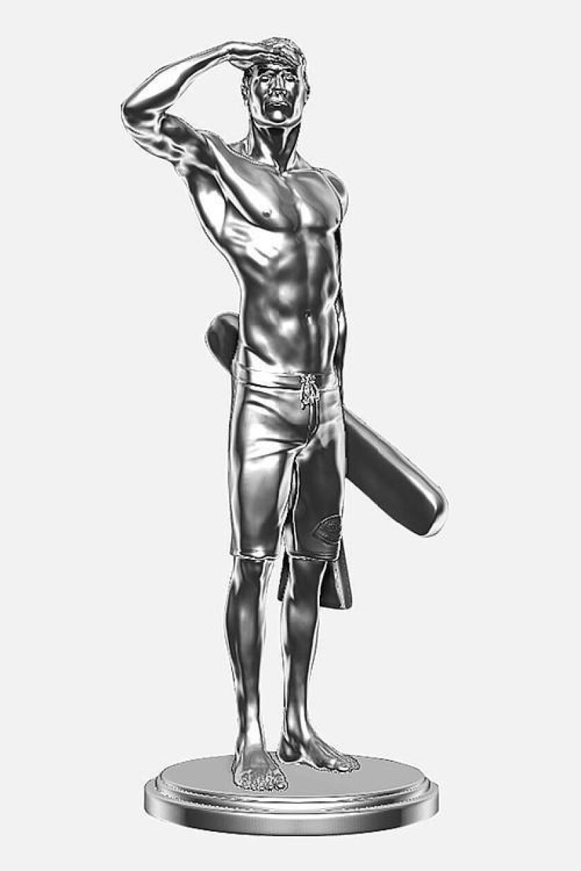 Ben Carlson statue