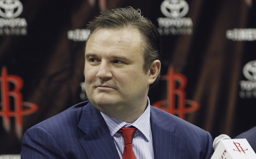 Houston Rockets general manager Daryl Morey.