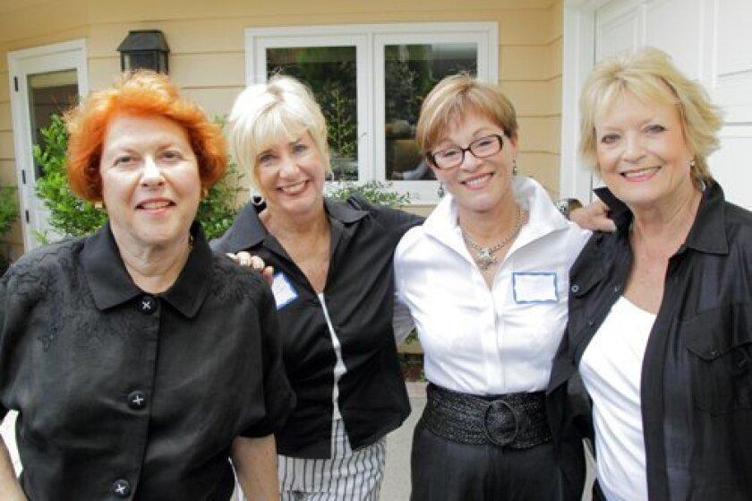 Peppy Bahr, Midgie Vandenberg, Mary Van Anda, Jan Crouch