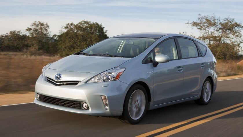 The recall applies to some Toyota Prius and Auris hybrids made from October 2008 to November 2014.