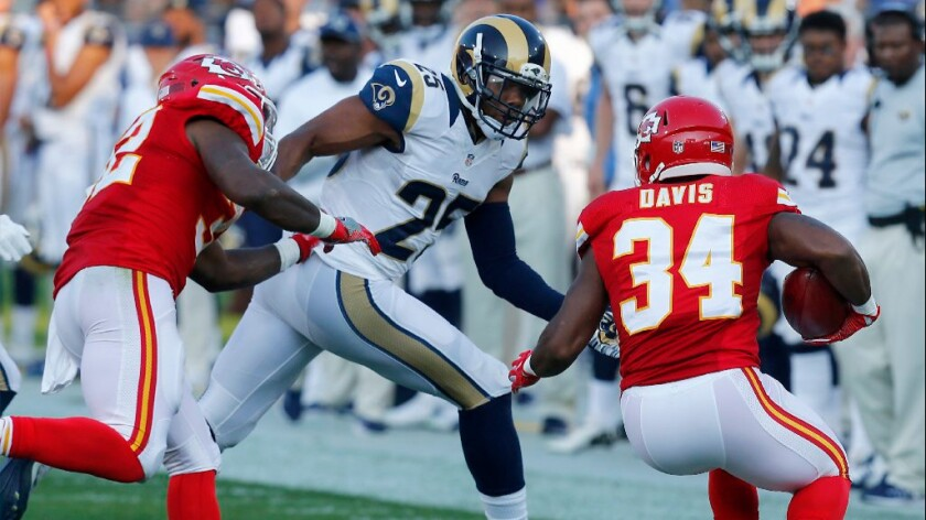 Rams safety T.J. McDonald charged with misdemeanor count of driving under influence of drugs
