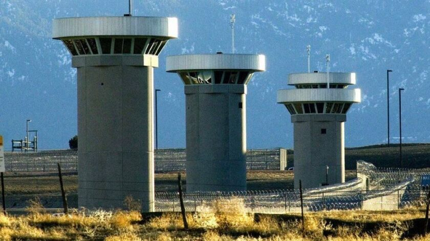 "The Colorado ""Supermax"" prison houses inmates including Unabomber Ted Kaczynski and Boston Marathon bomber Dzhokhar Tsarnaev."