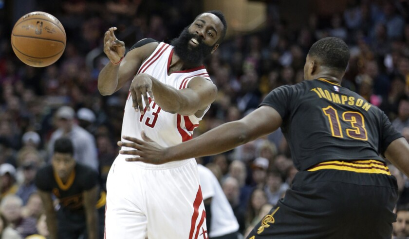 Rockets rally from 20-point deficit to beat Cavaliers, 106-100