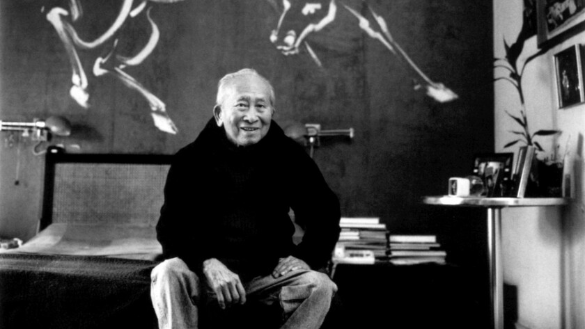Tyrus Wong preserves his father's kite-making hobby - Los