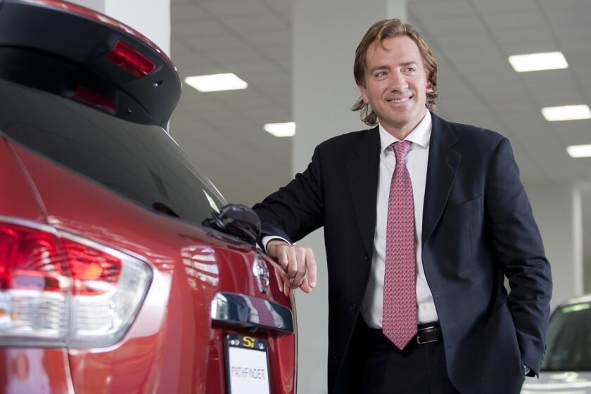 presidente y director general de Nissan Mexicana.