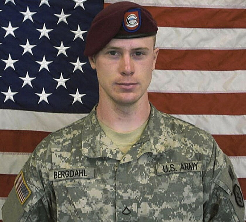 """Sgt. Robert """"Bowe"""" Bergdahl, the soldier held prisoner for years by the Taliban after leaving his post in Afghanistan, gives his account in the popular podcast """"Serial"""" on NPR."""
