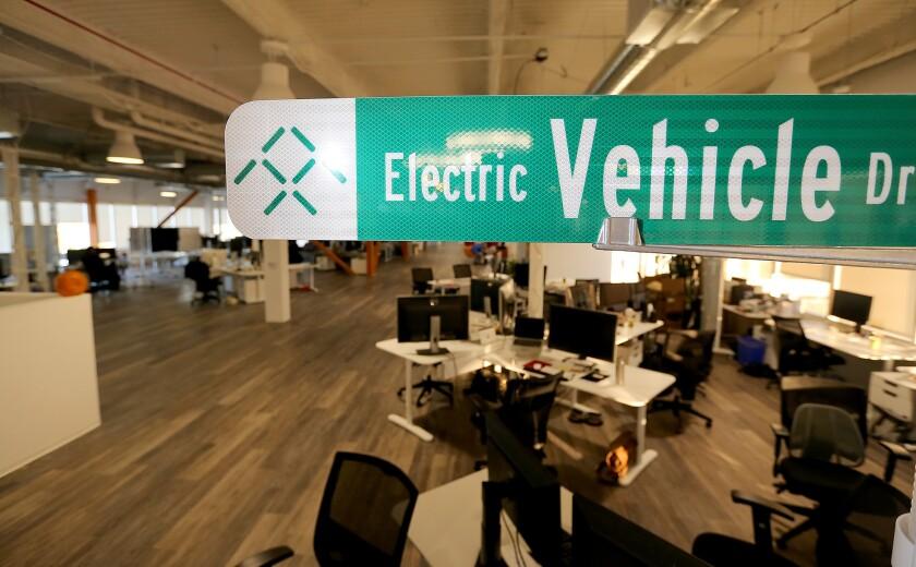 Electric car startup Faraday Future picks Nevada over California to build plant