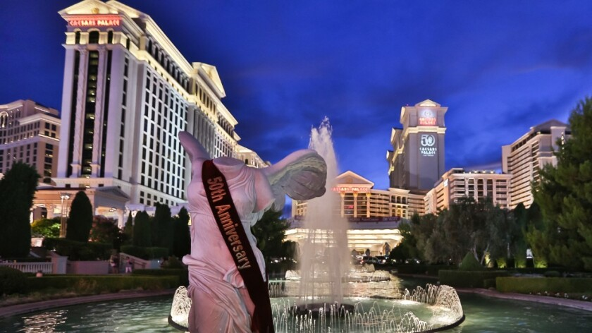 Increased resort fees went into effect in spring at Caesars Entertainment's resorts along the Las Vegas Strip.
