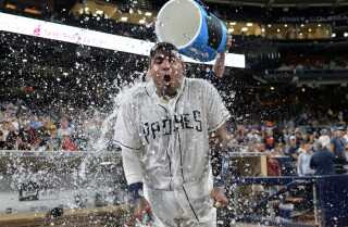 Hector Sanchez's homer clinches Padres win