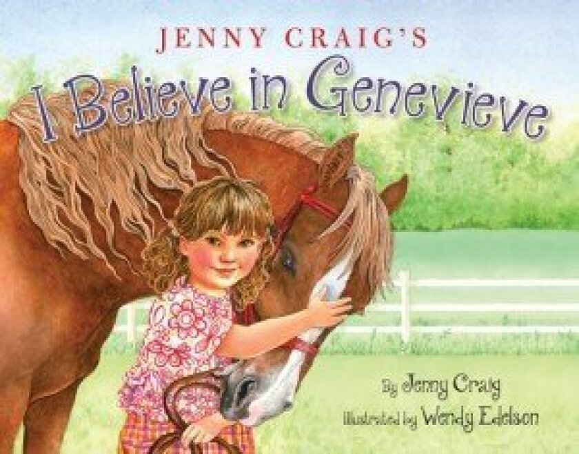 'i Believe in Genevieve' by Jenny craig is available at Warwick's, amazon.com and regnery.com for $16.95.