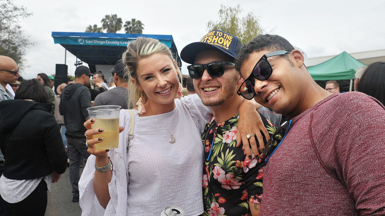 An eclectic mix of art, food, beer, music and neighborhood pride was celebrated at the 22nd Annual SDCCU Festival of Arts in North Park on Saturday, May 12, 2018.
