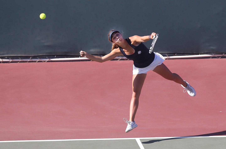 Photo Gallery: Newport Harbor vs. San Clemente in girls' tennis