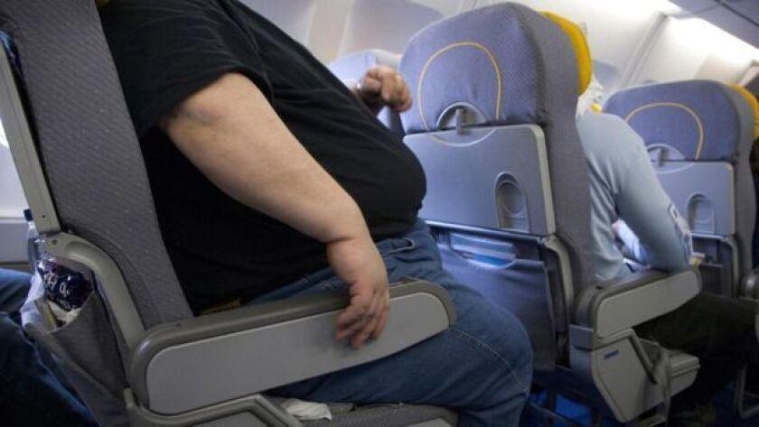 Los asientos de los aviones ya no funcionan para todo tipo de pasajero.