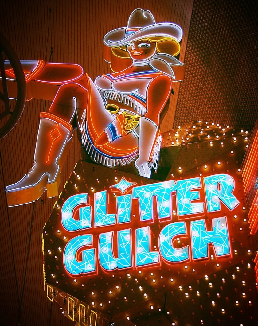 The gentlemen's club Glitter Gulch closes June 27 to make way for a new hotel-casino.