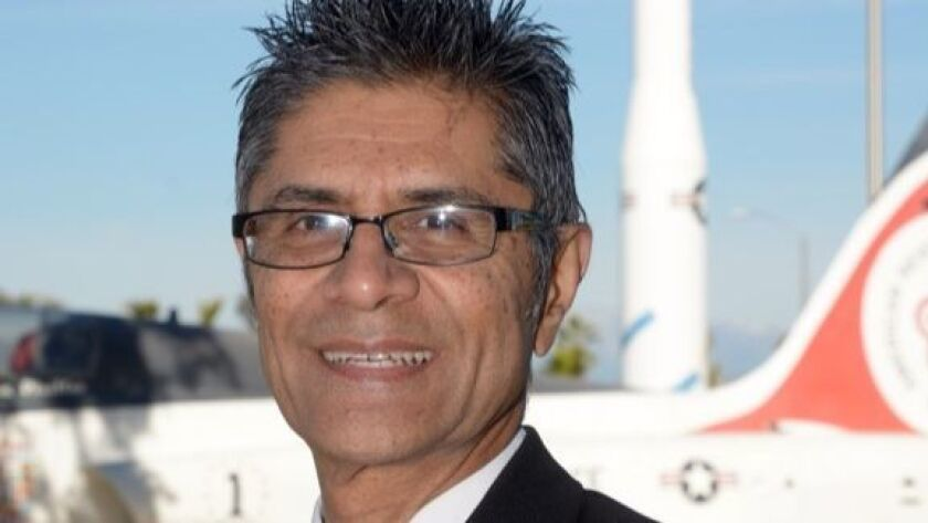Local businessman and board president of the March Field Air Museum Jamil Dada also takes part in the Air Force Air Mobility Command Civic Leadership Program.