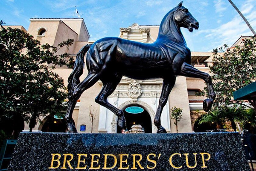 Del Mar racetrack is ready to host the 2017 Breeders' Cup World Thoroughbred Championships.