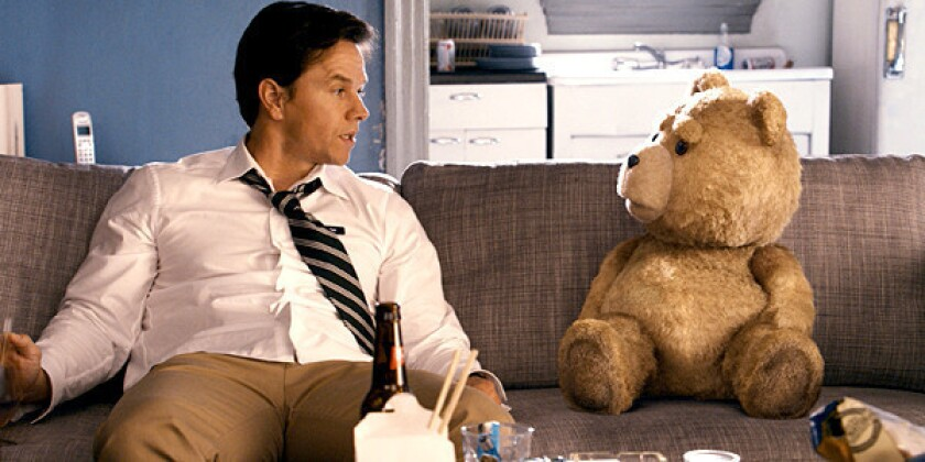 """Ted"" is the story of John Bennett (Mark Wahlberg), a man who must deal with the cherished teddy bear who came to life as the result of a childhood wish."