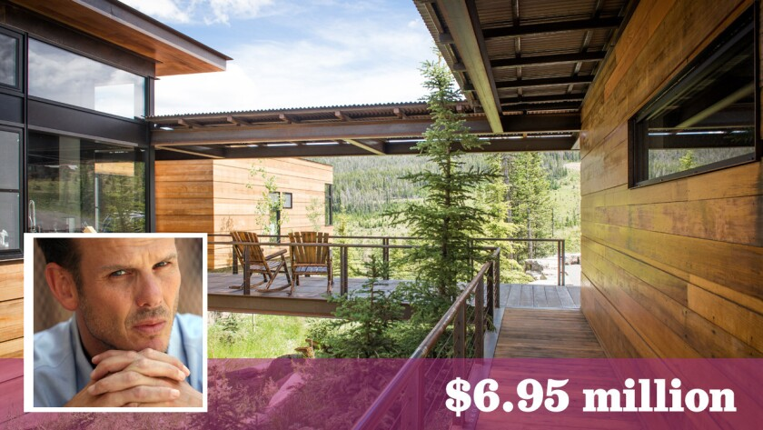 Actor-director-producer Peter Berg has put his rustic contemporary-style home at the Yellowstone Club in Big Sky, Mont., up for sale at $6.95 million.