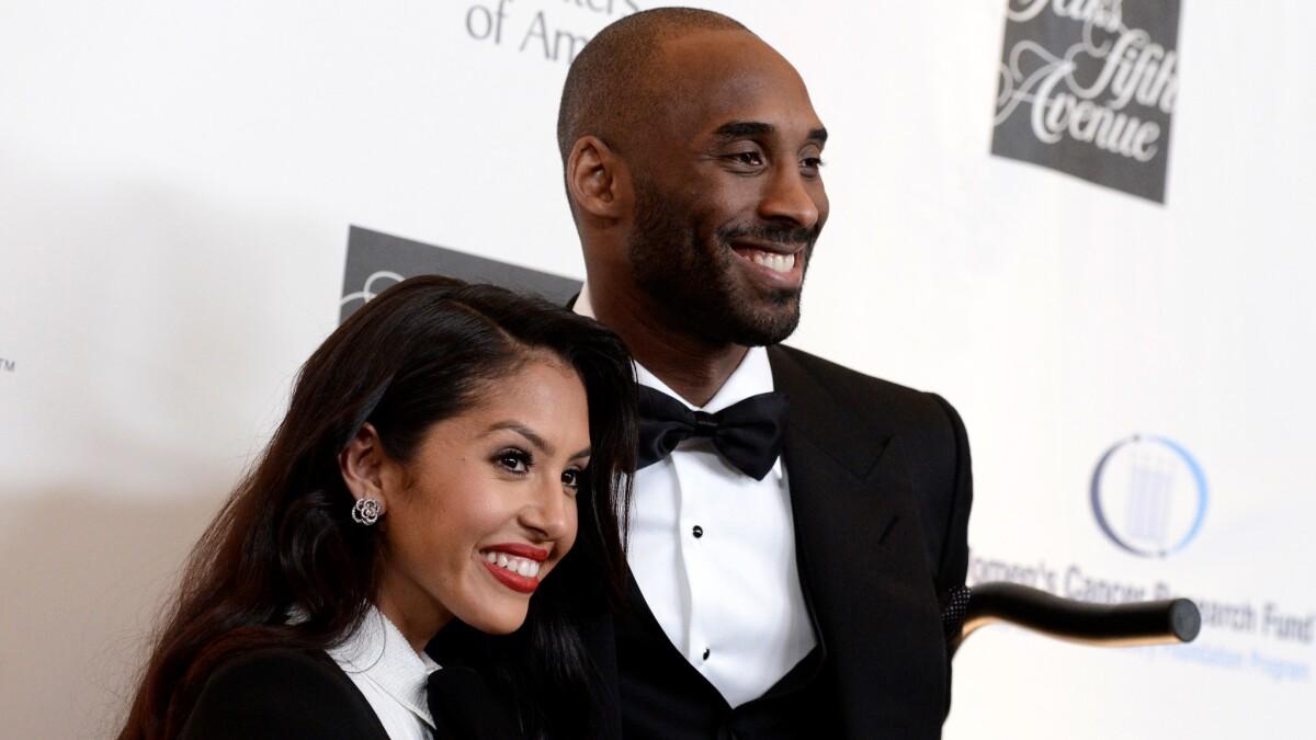 Vanessa Bryant Wishes Kobe Happy Wedding Anniversary Los Angeles Times