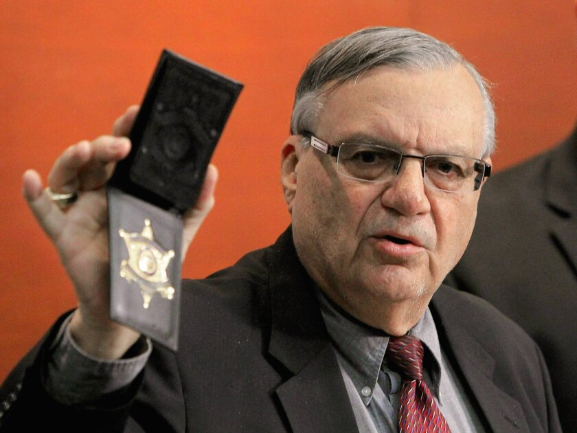 Former Maricopa County Sheriff Joe Arpaio, seen here in 2011, says he will run to reclaim his seat.