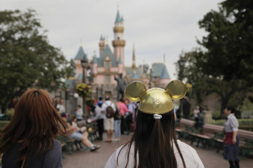 Disneyland in January, about a month after a measles outbreak linked to the amusement park. A new study says parental resistance to vaccinations played a role in the outbreak.
