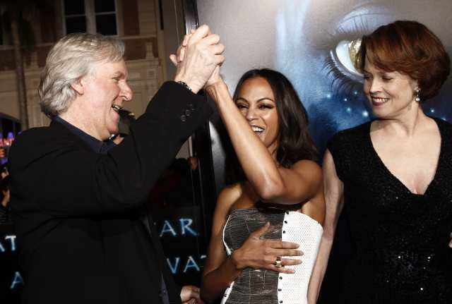 """The premiere marked the end of years of work on """"Avatar."""""""