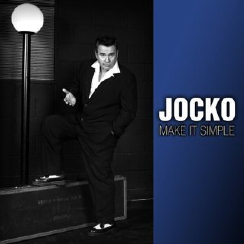 Jocko Marcellino's new CD is called, 'Make It Simple.'