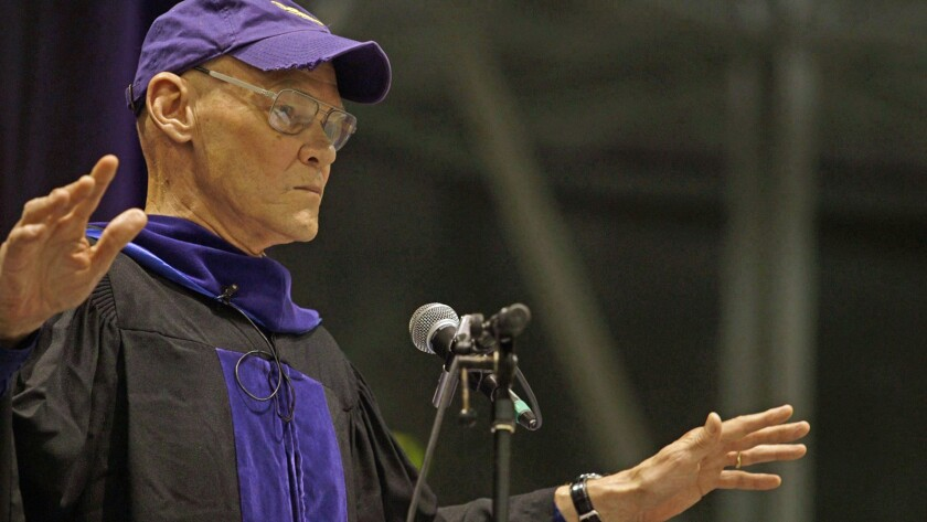 """James Carville in the documentary """"Starving the Beast."""""""