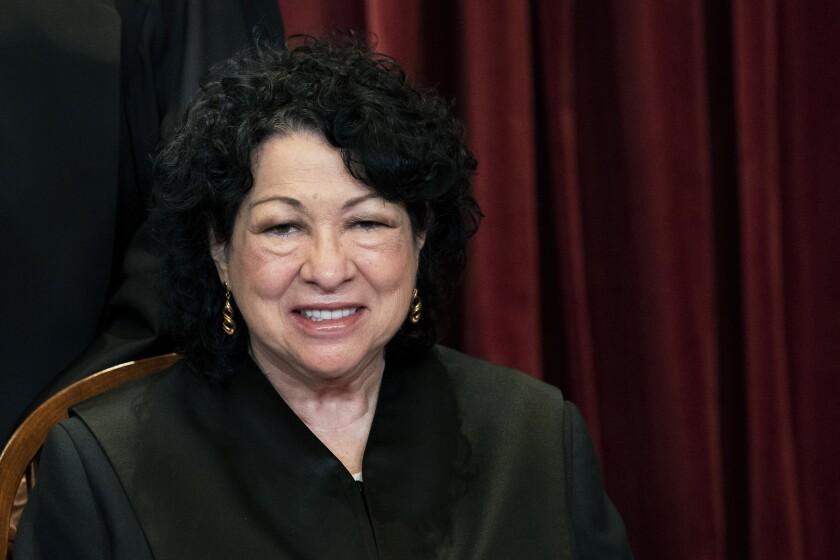 Sotomayor: Hay que hacer un análisis crítico de la policía - San Diego Union-Tribune en Español