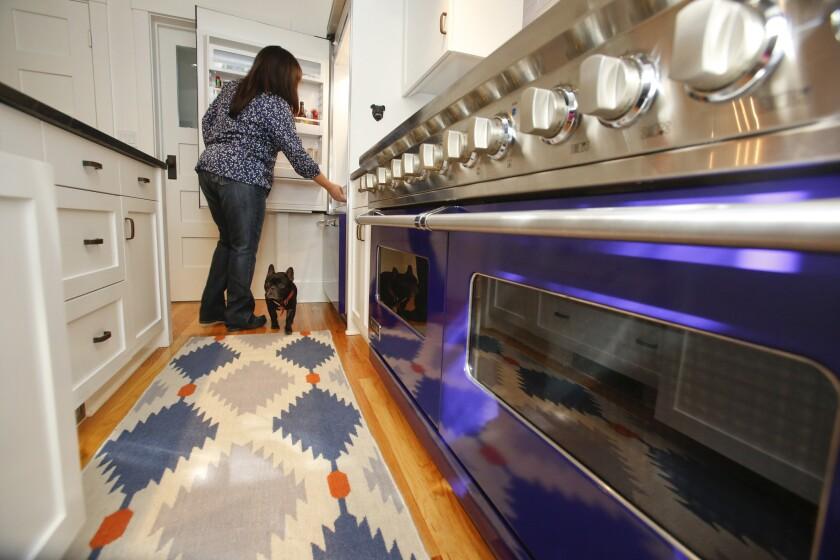 Michael Cimarusti and Crisi Echiverri's home kitchen