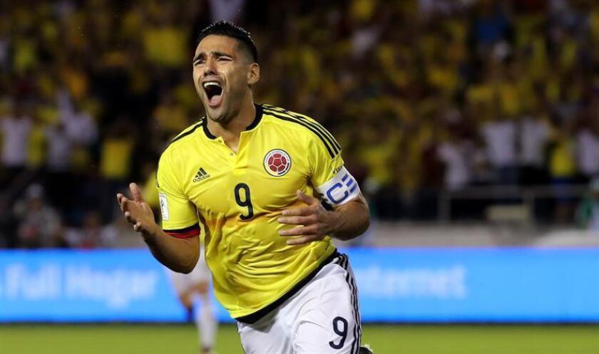 En la imagen, el jugador de la selección colombiana de fútbol Falcao García. EFE/Archivo