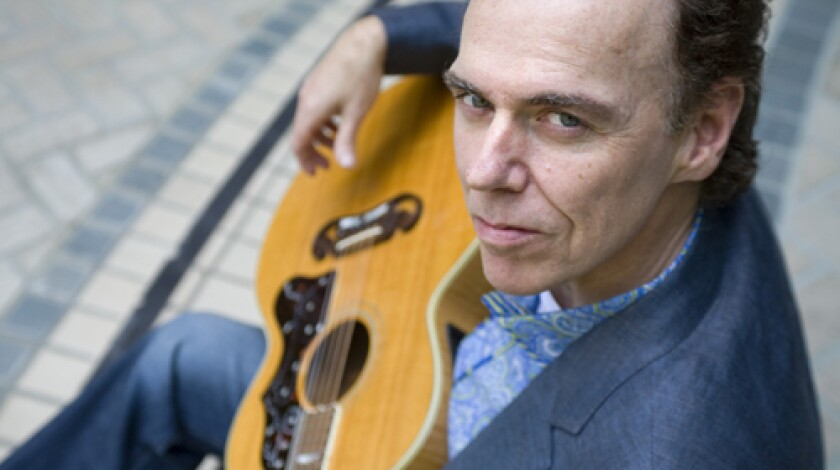 """LIFELIKE: Hiatt says """"Thing Called Love"""" was inspired by his wife-to-be."""