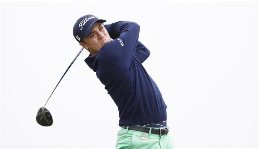 Justin Thomas, golfista estadounidense. EFE/Archivo