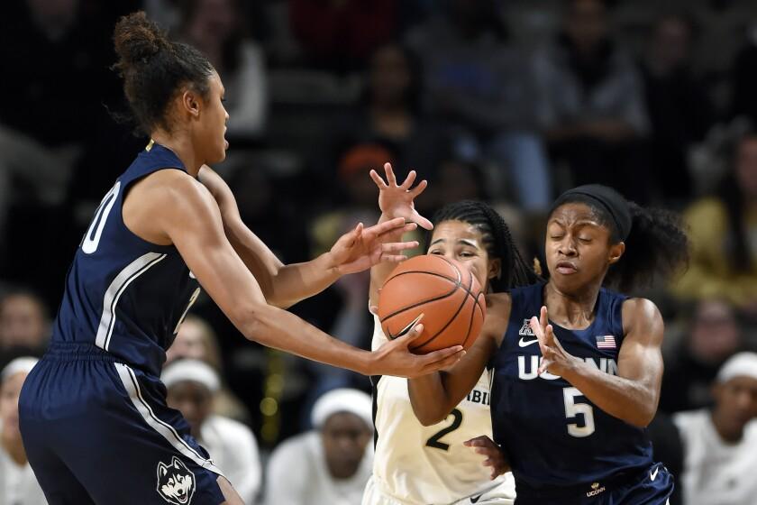 UConn Vanderbilt Basketball