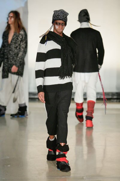 Christian Balelia walked his first runway show, thanks to the Make-A-Wish Foundation.