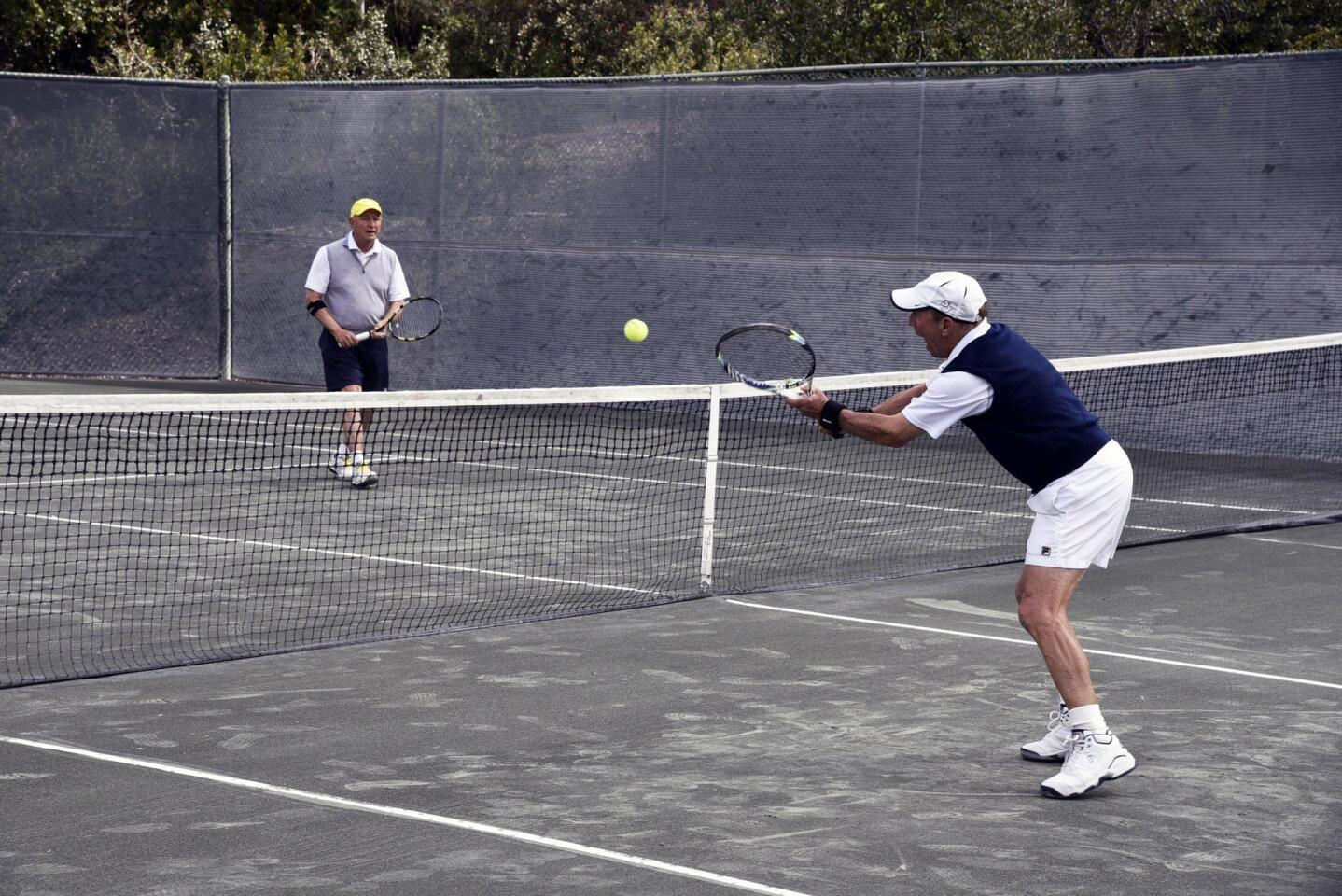 RSF Tennis Club holds Wimbledon Woods