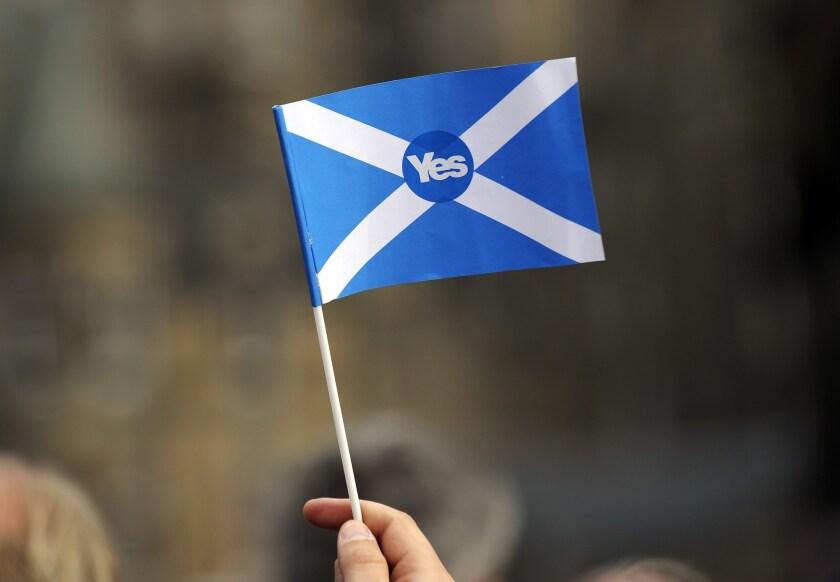 BRITAIN SCOTLAND INDEPENDENCE VOTE