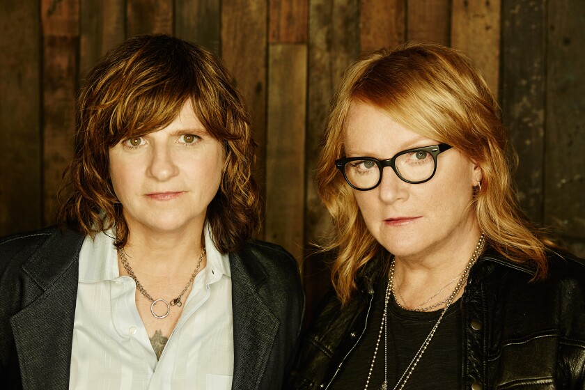 Amy Ray (left) and Emily Saliers of the Indigo Girls