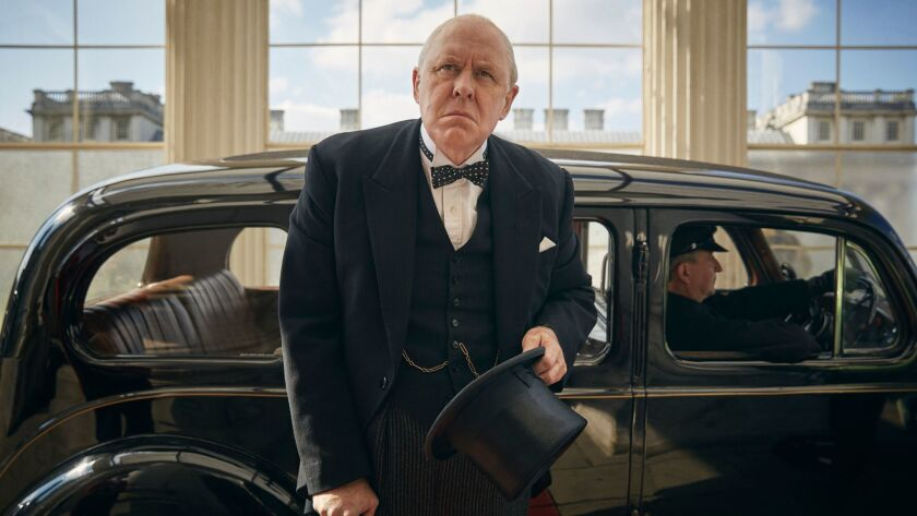 """John Lithgow in """"The Crown."""""""
