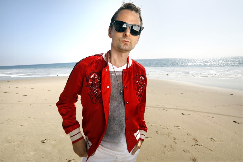 MALIBU, CALIFORNIA--OCT. 23, 2018--British rock band Muse frontman Matt Bellamy photographed in Mali