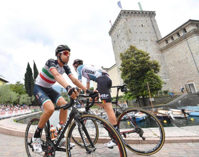 El corredor italiano Fabio Aru. EFE/Archivo