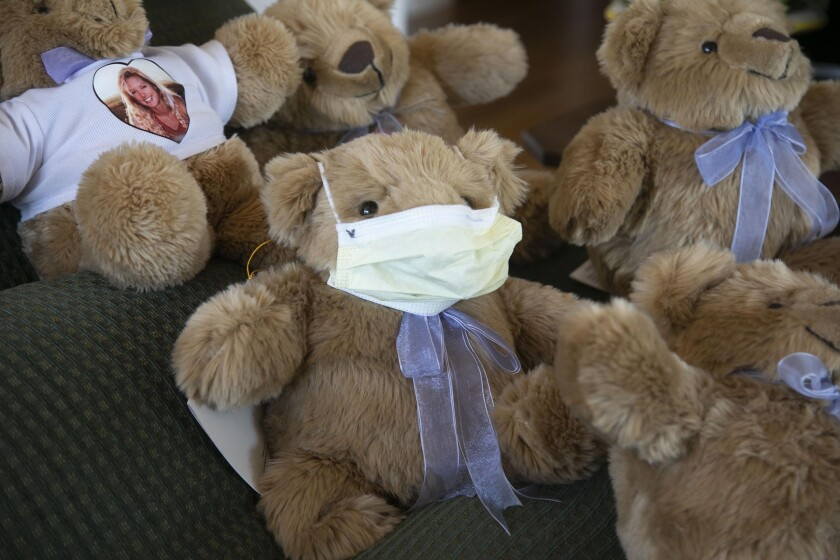 Comfort Cubs like this one are on their way to front-line medical staff dealing with the coronavirus pandemic.