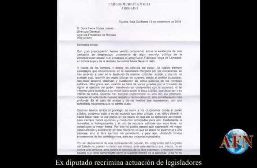 Ex diputado recrimina actuación de legisladores