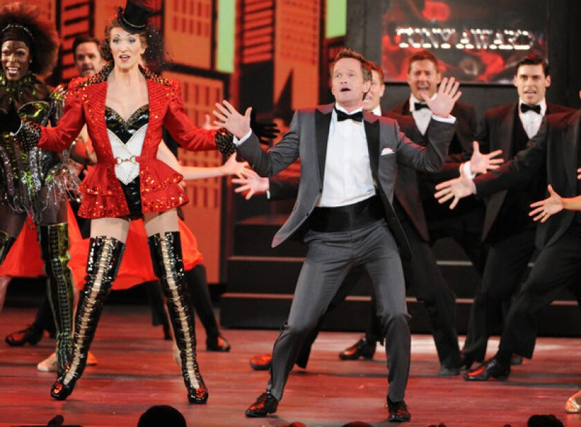 Actor Neil Patrick Harris performs on stage at the 67th Tony Awards