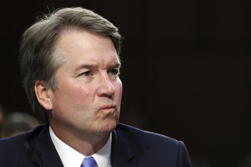 Brett Kavanaugh denied the allegation of sexual assault.