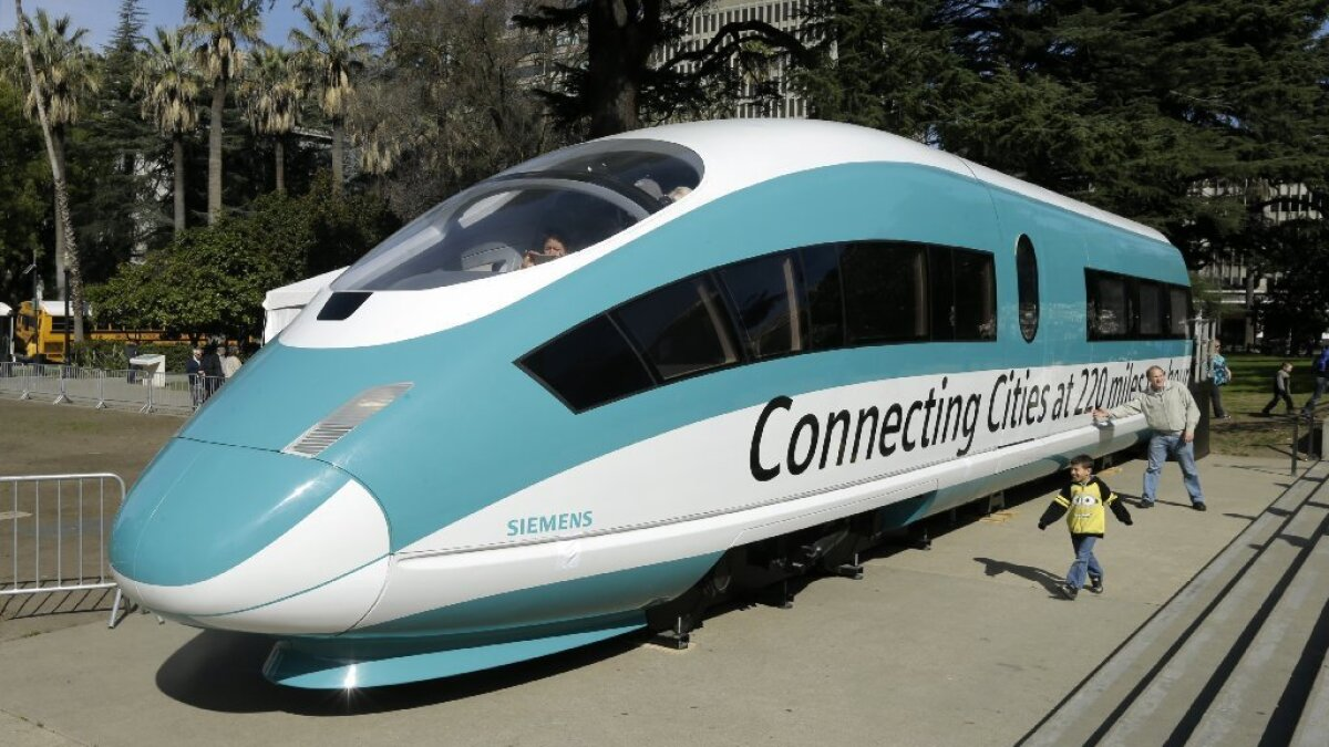Not made in America? California bullet train officials seek
